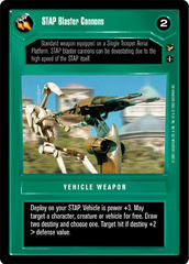 STAP Blaster Cannons
