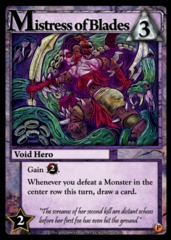 Ascension: Convention Promo – Mistress of Blades Promo