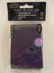 Max Protection Alpha Gloss Small Size Sleeves - Black - 60ct