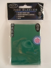 Max Protection Alpha Gloss Small Size Sleeves - Green - 60ct