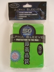 Max Protection Alpha Lime Green Large Sleeves