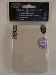Max Protection Alpha Iridium White Small Sleeves