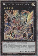 Bujintei Susanowo - CT11-EN002 - Platinum Secret Rare - Limited Edition