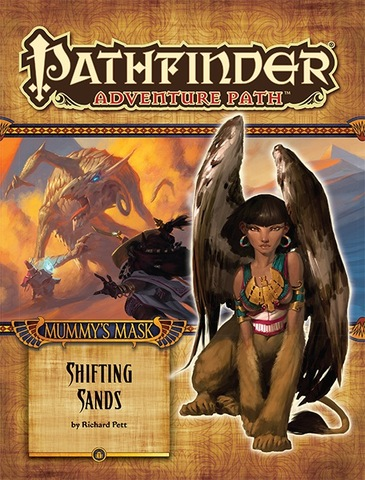 Pathfinder Adventure Path #81: Shifting Sands (Mummys Mask 3 of 6)