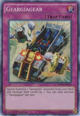 Geargiagear - MP14-EN052 - Super Rare - 1st Edition