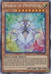 World of Prophecy - MP14-EN081 - Secret Rare - 1st Edition