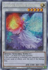 Armades, Keeper of Boundaries - MP14-EN095 - Secret Rare - 1st Edition