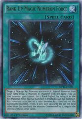 Rank-Up-Magic Numeron Force - MP14-EN101 - Ultra Rare - 1st Edition