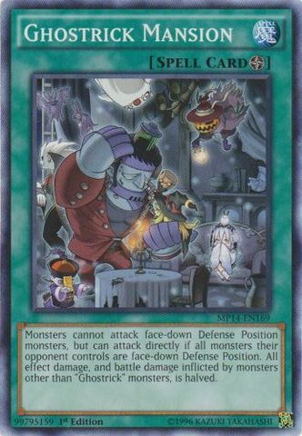 Ghostrick Mansion - MP14-EN169 - Common - 1st Edition