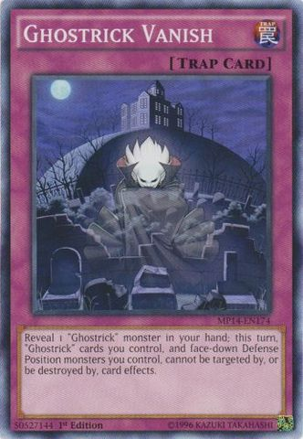 Ghostrick Vanish - MP14-EN174 - Common - 1st Edition