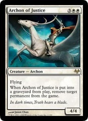 Archon of Justice on Channel Fireball