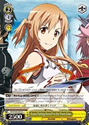 SAO/S26-016 C Asuna Putting Herself in the Front Lines