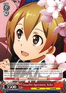 Ceasefire Agreement Keiko - SAO/S26-049 - U