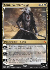 Sorin, Solemn Visitor - Foil on Channel Fireball
