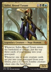 Sidisi, Brood Tyrant on Channel Fireball
