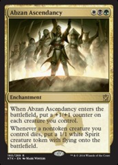 Abzan Ascendancy - Foil on Channel Fireball