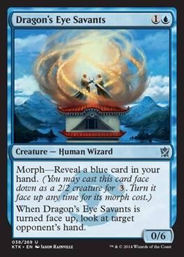 Dragons Eye Savants - Foil