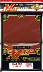 KMC Super Red Sleeves (80ct)