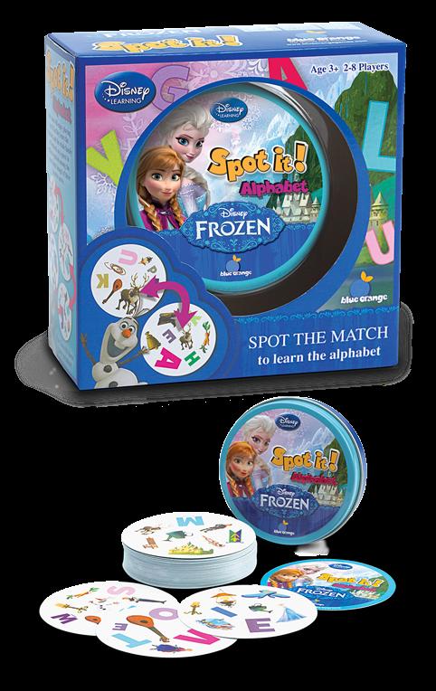 Spot It! Disney Frozen II