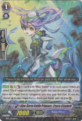 Blue Storm Battle Princess, Crysta Elizabeth - BT15/039EN - R