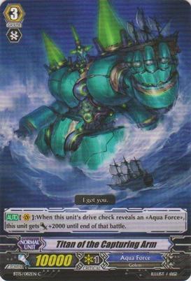 Titan of the Capturing Arm - BT15/082EN - C