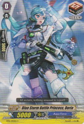 Blue Storm Battle Princess, Doria - BT15/092EN - C