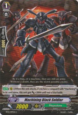 Machining Black Soldier - BT15/97EN - C