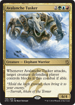 Avalanche Tusker - Foil