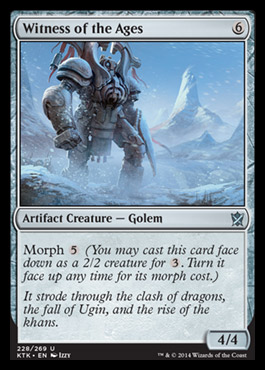 Witness of the Ages - Foil