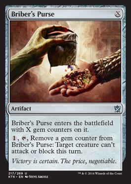 Bribers Purse - Foil
