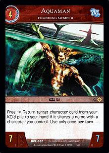 Aquaman, Founding Member - Foil