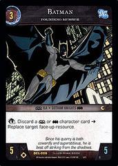 Batman, Founding Member - Foil