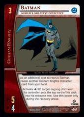 Batman, World's Greatest Detective - Foil