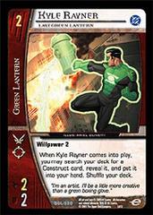 Kyle Rayner, Last Green Lantern - Foil
