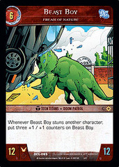 Beast Boy, Freak of Nature - Foil