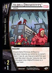 Alpha Primitives, Army - Foil
