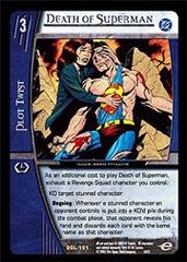 Death of Superman - Foil