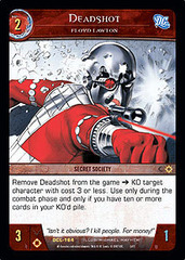 Deadshot, Floyd Lawton - Foil