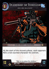 Deathstroke the Terminator, Killing Machine - Foil