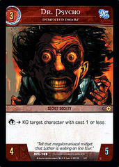 Dr. Psycho, Demented Dwarf - Foil