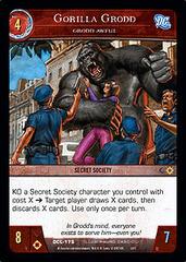 Gorilla Grodd, Grodd Awful - Foil