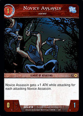 Novice Assassin, Army - Foil
