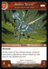 Aaron Stack, Hater of Fleshy Ones - Foil