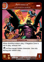 Annihilus, Anti-Matter Master - Foil