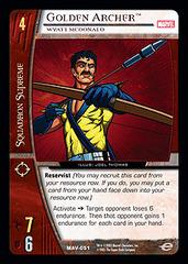 Golden Archer, Wyatt McDonald - Foil