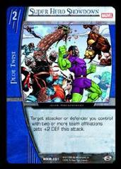 Super Hero Showdown - Foil