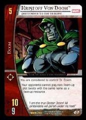 Kristoff Von Doom, Pretender to the Throne - Foil