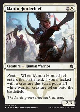 Mardu Hordechief - Foil
