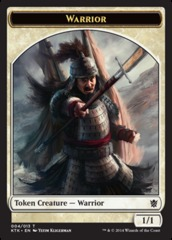 Warrior Token (004/013 Pike)