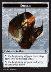 Sarkhan, the Dragonspeaker Emblem Token (12)